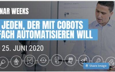 Universal Robots: Online-Seminar-Week zu kollaborierenden Robotern