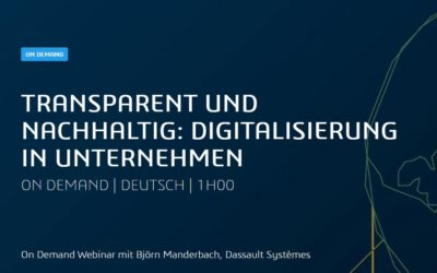 Dassault On Demand Webinar: Digitalisierung in Unternehmen