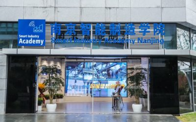 Eröffnung Smart Industry Academy in Nanjing